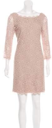 Diane von Furstenberg Zarita Lace Mini Dress w/ Tags