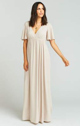 Show Me Your Mumu Emily Maxi Dress ~ Show Me the Ring Crisp