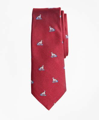 Brooks Brothers Boys Dog Print Tie