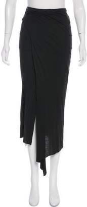 Enza Costa Knit Knee-Length Skirt