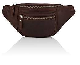 Barneys New York MEN'S LEATHER BELT BAG - BROWN