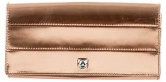 Reed Krakoff Patent Leather Paneled Clutch