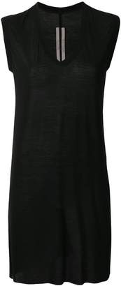 Rick Owens sleeveless v-neck top