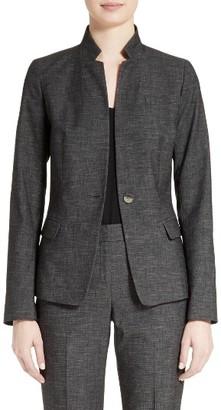 Women's Lafayette 148 New York Tristan Monticino Suit Blazer $598 thestylecure.com