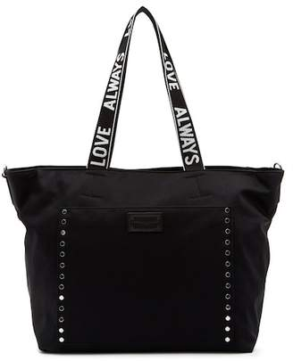 Rebecca Minkoff Baby Nylon Tote with Tape Strap