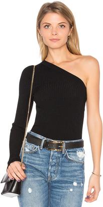 Autumn Cashmere One Shoulder Top $165 thestylecure.com