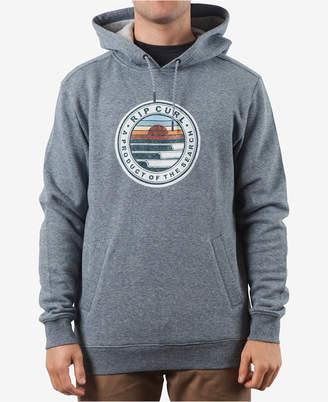 Rip Curl Men Destination Logo-Print Fleece Hoodie