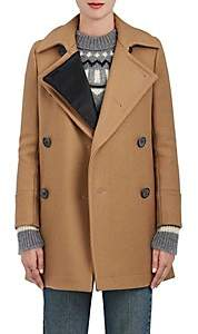 The RERACS Women's Wool Peacoat - Camel