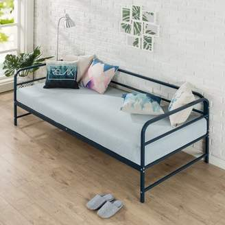 Zinus Nightfall Metal Twin Daybed with Steel Support Slats