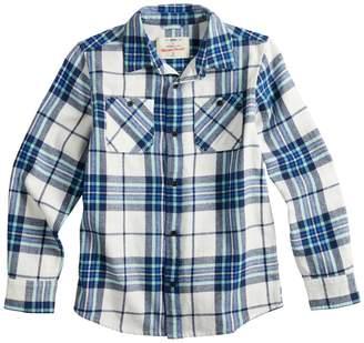 Boys 8-20 & Husky Urban Pipeline Button-Down Flannel Shirt