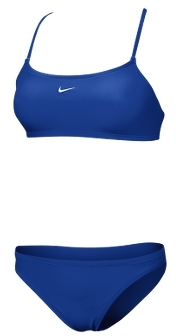 Nike Core Women's Solid Two-Piece Swimsuit