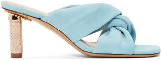 Jacquemus Blue Les Mulles Bellagio Sandals