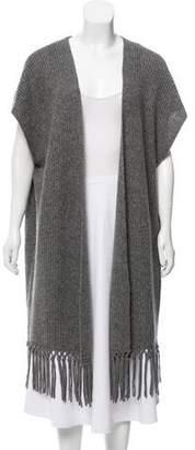 Calypso Wool Rib Knit Cardigan w/ Tags