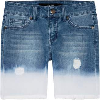 Joe's Jeans Distressed Bleach Denim Shorts