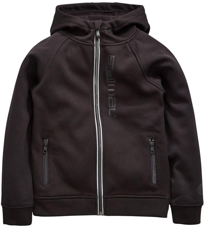 Boys Hooded Bonded Tech Jacket