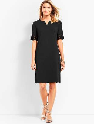 Talbots Lace Elbow Shift Dress
