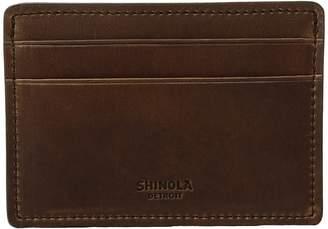 Shinola Detroit Navigator Six-Pocket Card Case Wallet Handbags
