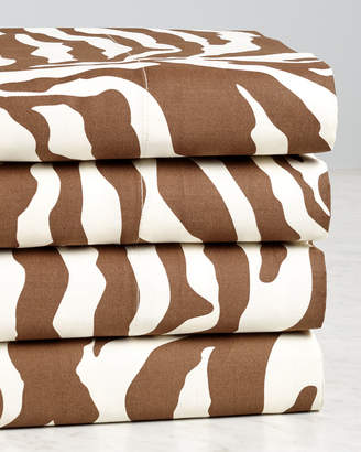 Westport 500T 100% Cotton Animal Print 4Pc Sheet Set