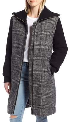 Mackage Knit Trim Down Coat
