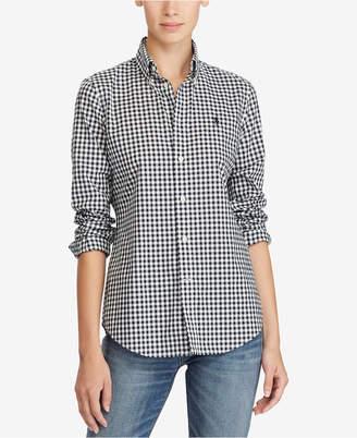 Polo Ralph Lauren Slim-Fit Gingham Poplin Shirt