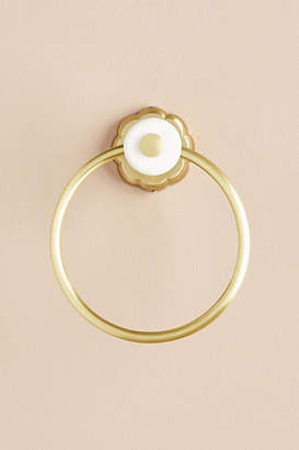 Anthropologie Mineral Towel Ring
