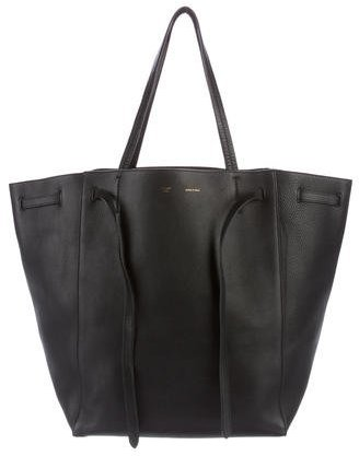 Céline Medium Cabas Phantom Tote w/ Belt