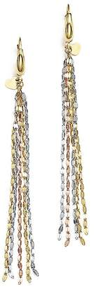 Bloomingdale's 14K Yellow, White and Rose Gold Five Strand Earrings - 100% Exclusive