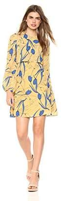 Wild Meadow Women's Tulip Chiffon Shift Dress XS