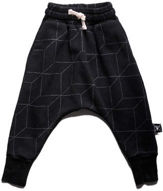 Nununu Grid Baggy Pants