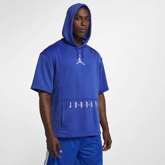 Jordan Air Men's Short Sleeve Basketball Hoodie
