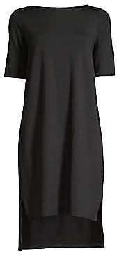 Eileen Fisher Women's Jersey High-Low Shift Dress