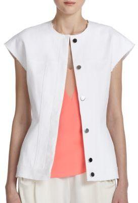 3.1 Phillip LimContoured Cotton Vest