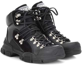 Gucci Flashtrek Leather high-top sneakers