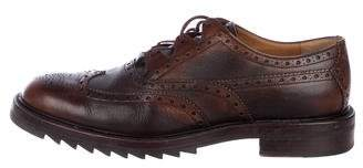Gucci Wingtip Leather Derby Brogues
