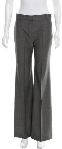Chloé Chloé Wool Wide-Leg Pants