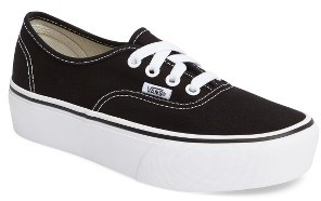 Women's Vans 'Authentic' Platform Sneaker $54.95 thestylecure.com