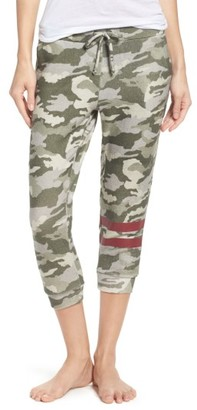 Women's Chaser Camo Crop Lounge Pants $97 thestylecure.com