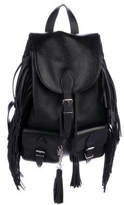 Saint Laurent 2016 Festival Fringe Backpack