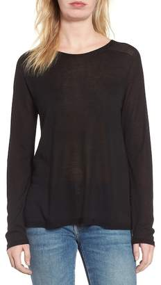 Eileen Fisher Knit Hi-Lo Sweater