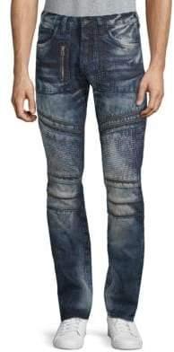 PRPS Krill Acid Wash Zipper Jeans