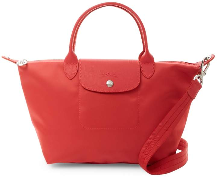 Longchamp Women's Le Pliage Neo Small Top Handle - RED - STYLE