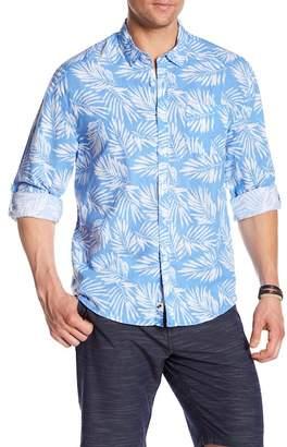 Trunks Surf and Swim CO. Maui Linen Blend Regular Fit Shirt