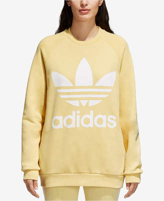 adidas adicolor Over-Sized Trefoil Sweatshirt