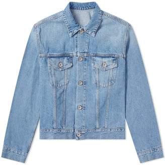 Unravel Project Washed Denim Jacket