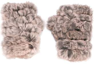 Jocelyn fur gloves
