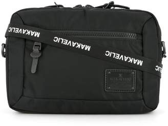 Makavelic bi-layer crossbody pouch bag