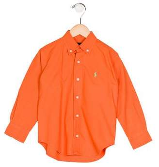Ralph Lauren Boys' Collared Button-Up Shirt