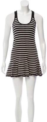 Thakoon Striped Wool Dress
