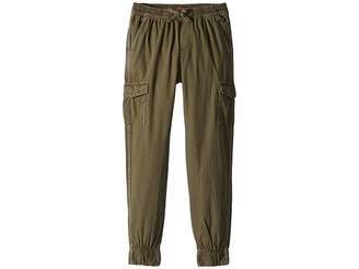 7 For All Mankind Kids Cargo Canvas Jogger Pants (Big Kids)