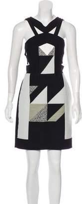 Roland Mouret Sleeveless Mini Dress